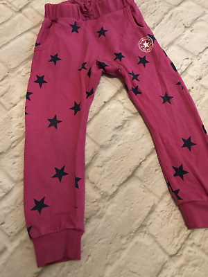 Age 3 Pink Converse Joggers