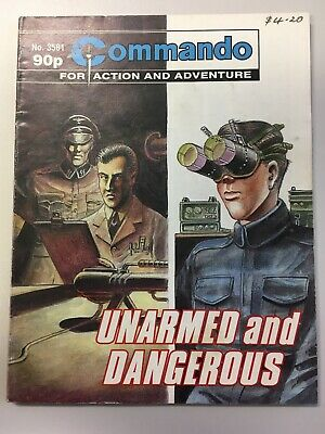 "Commando Comic # 3851 from 2002  ""Unarmed and Dangerous""  Very Good Cond."