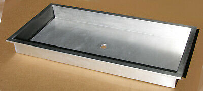 """48"""" x 24"""" Commercial duty stainless steel utility sink with standard drain"""