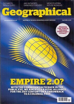 the geographical magazine-APR 2018-EMPIRE 2.0?