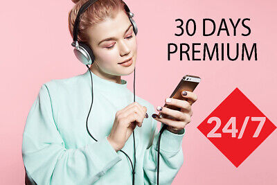 Spotify Premium Personal for 30 days 1 month, INSTANT 10sec DELIVERY