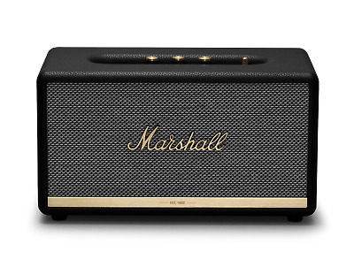 Marshall Stanmore II Wireless Home Speaker with Google Assistant - Black 1002655