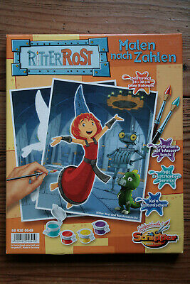 Noris Spiele Schipper Arts & Craft - Painting by / from Numbers Kit Knight Rost