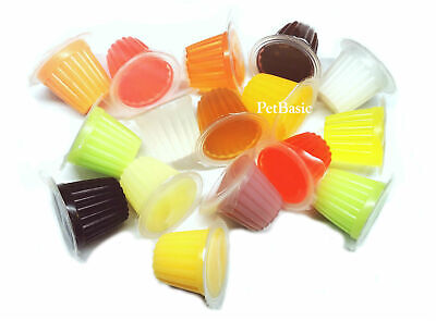 20 x Assorted Jelly Pots Treat Crested Gecko Insect Food Bearded Dragon