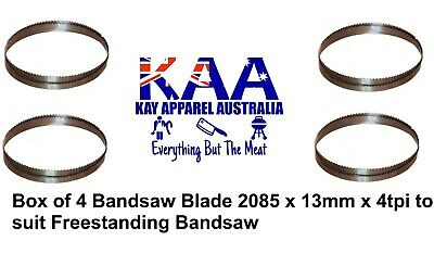 Box Of 4 Bandsaw Blades 2085x 13mm x 4tpi Chinese Freestanding Bandsaw, Meat Saw