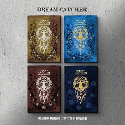 DREAMCATCHER [DYSTOPIA:THE TREE OF LANGUAGE] 1st Album CD+POSTER+Photo Book+Card