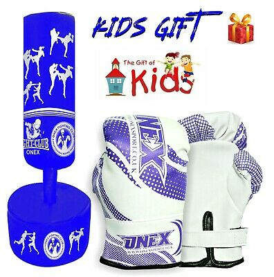 Kids/Junior FreeStanding Kick Boxing Heavy duty Punch bag Martial Arts MMA