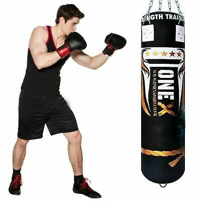 5ft Punch Bag Heavy Duty Professional Training Unfilled MMA Martial Boxing Bags