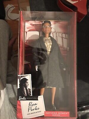 Barbie Rosa Parks Inspiring Women Collection Signature Series Doll BHM