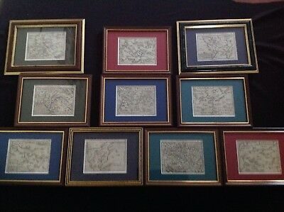 ORTELIUS MINIATURE MAPS LOT c1600 COLLECTION
