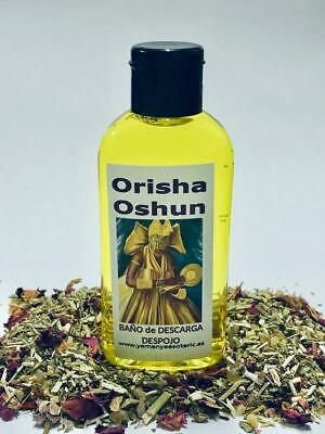 "BAÑO de DESCARGA DESPOJO "" ORISHA OSHUN "" 100 ml ღ"