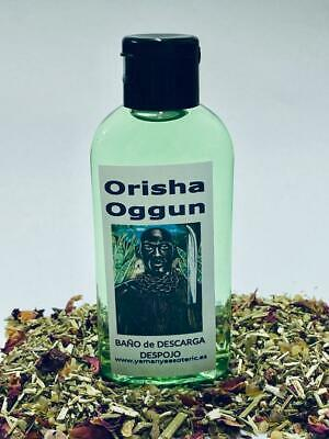 "BAÑO de DESCARGA DESPOJO "" ORISHA OGGUN  "" 100 ml ღ"