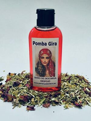 "BAÑO de DESCARGA DESPOJO "" POMBA GIRA "" 100 ml"