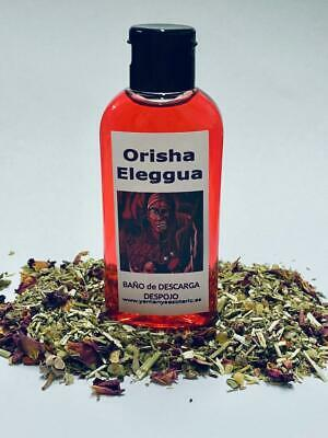 "BAÑO de DESCARGA DESPOJO "" ORISHA ELEGGUA "" 100 ml"