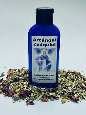 "BAÑO de DESCARGA DESPOJO "" ARCANGEL ZADQUIEL "" 100 ml"