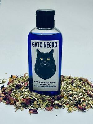 "BAÑO de DESCARGA DESPOJO "" GATO NEGRO "" 100 ml"