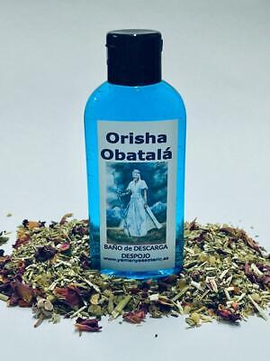 "BAÑO de DESCARGA DESPOJO "" ORISHA OBATALA "" 100 ml"