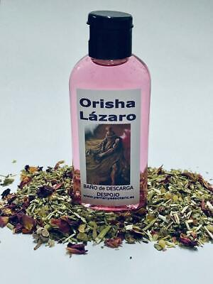 "BAÑO de DESCARGA DESPOJO "" ORISHA LÁZARO "" 100 ml"