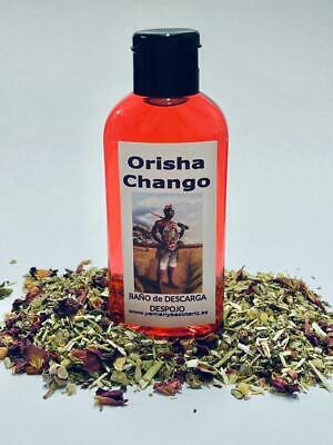 "BAÑO de DESCARGA DESPOJO "" ORISHA CHANGO "" 100 ml"