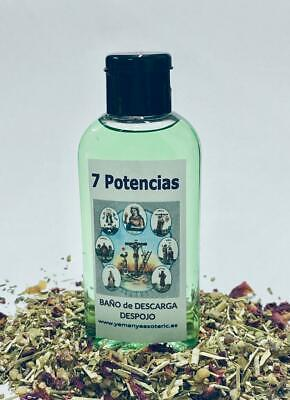 "BAÑO de DESCARGA DESPOJO "" 7 POTENCIAS "" 100 ml"