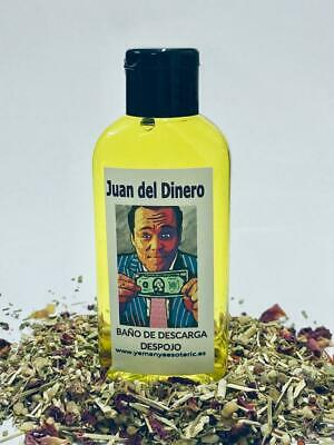 "BAÑO de DESCARGA DESPOJO "" JUAN DEL DINERO "" 100 ml"