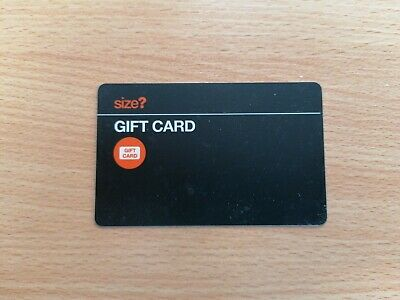 Size? Gift Card / Voucher £25 for Nike Stussy Adidas etc