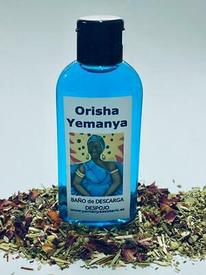 "BAÑO de DESCARGA DESPOJO "" ORISHA YEMANYA  "" 100 ml"
