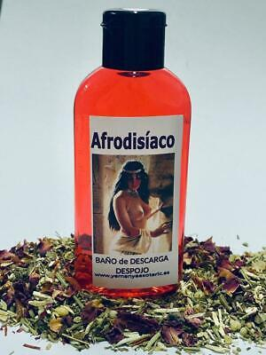 "BAÑO de DESCARGA DESPOJO "" AFRODISIACO  "" 100 ml"