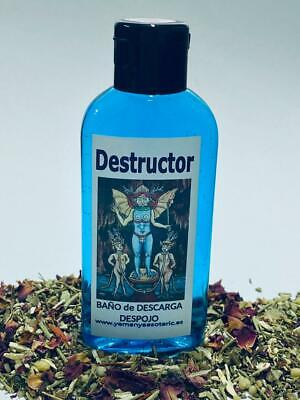 "BAÑO de DESCARGA DESPOJO "" DESTRUCTOR "" 100 ml"