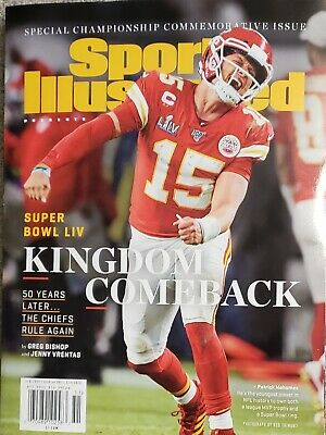 Sports Illustrated Special 2020, Kansas City Chiefs Super Bowl LIV, New/Sealed