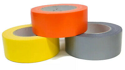 Waterproof Cloth Coloured Duck Gaffer Tape Self Adhesive Extra Strong Sealing