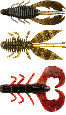 """Berkley Powerbait Chigger Craw 3/"""" and 4/"""" Choice of Colors"""