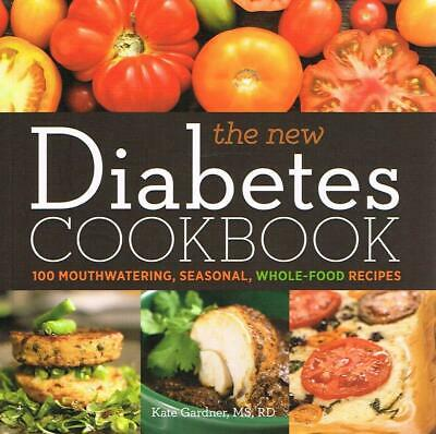 The New Diabetes Cookbook: 100 Mouthwatering Food  New book [Paperback]