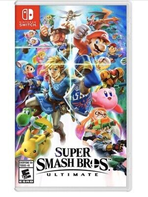 Super Smash Bros. Ultimate Switch - Factory Sealed