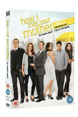 How I Met Your Mother: The Complete Ninth Season DVD (2014) Josh Radnor cert 15