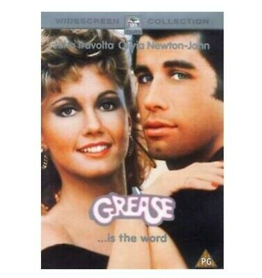 Grease DVD (2002) John Travolta, Kleiser (DIR) cert PG FREE Shipping, Sealed