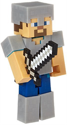 Figures-Minecraft Survival Mode 5`inch - Iron Armor Steve /Toys NEW