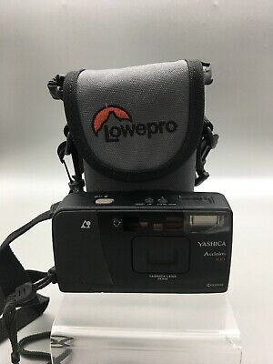 Vintage Yashica Acclaim 100 APS Film Camera 25mm Point & Shoot Compact Black G35