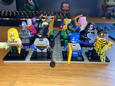 DC Comics LEGO Minifigures - Complete Set of 16 (DC Super Heroes 2020)