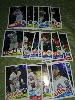 2020 Topps Baseball Series 1 INSERTS Singles - Pick Card - Create Own Lot