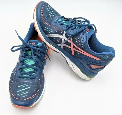 ASICS WOMEN'S GEL KAYANO 23 Running Shoe 10 PoseidonSilver
