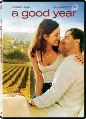 A Good Year (Full-Screen Edition) - DVD - VERY GOOD