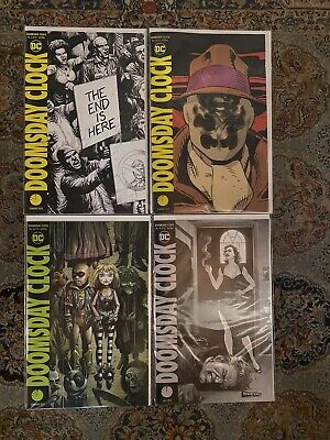 Doomsday Clock #1 & 1 Lenticular Cover #6 #10 DC Comics NM+