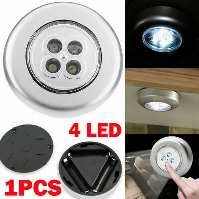 LED Motion Sensor Night Light Indoor Outdoor Battery Operated Stairs Hallway AU