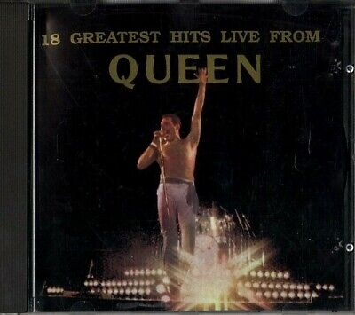 18 Greatest hits live from Queen (1991, CD)