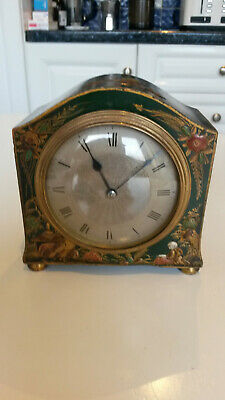 French 8 Day Chinoiserie Clock