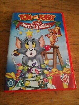 Tom and jerry movie - paws for a holiday Dvd Preowned