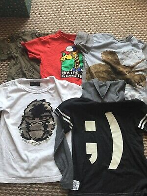 Boys Next T shirts tops age 4-5 5 years good condition bundle