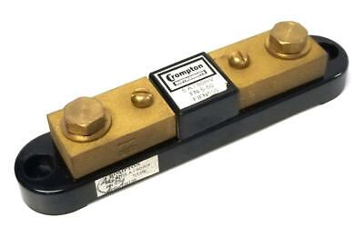 Crompton FN-5-50 Meter Shunt 5 A 50 mV (2 Available)