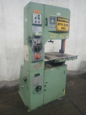 """Jet  Vertical Band Saw 20"""" X 11""""  28"""" X 26"""" Table 01201050005"""